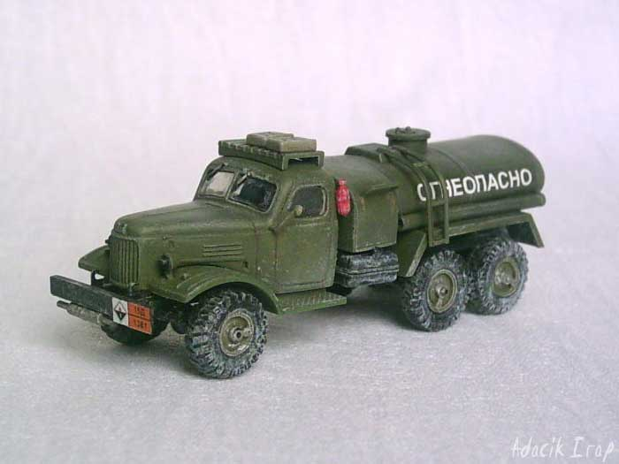 ZIL 157 Soviet Fuel Truck - Documentation